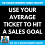 Artwork for How You Can Use Your Average Ticket to Figure Out the Customers Needed to Hit a Sales Goal