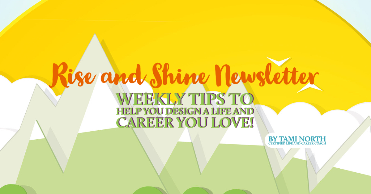 Rise and Shine Newsletter