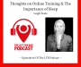 Artwork for LTBP #66 - Leigh Peele: Thoughts on Online Training & The Importance of Sleep