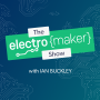 Artwork for Electromaker Show Episode 16 - Raspberry Rubik's Cube Solver, DIY Air Purifiers, STM32 vs. ESP32, and More!