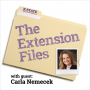 Artwork for Carla Nemecek - The Extension Files - March 30, 2018