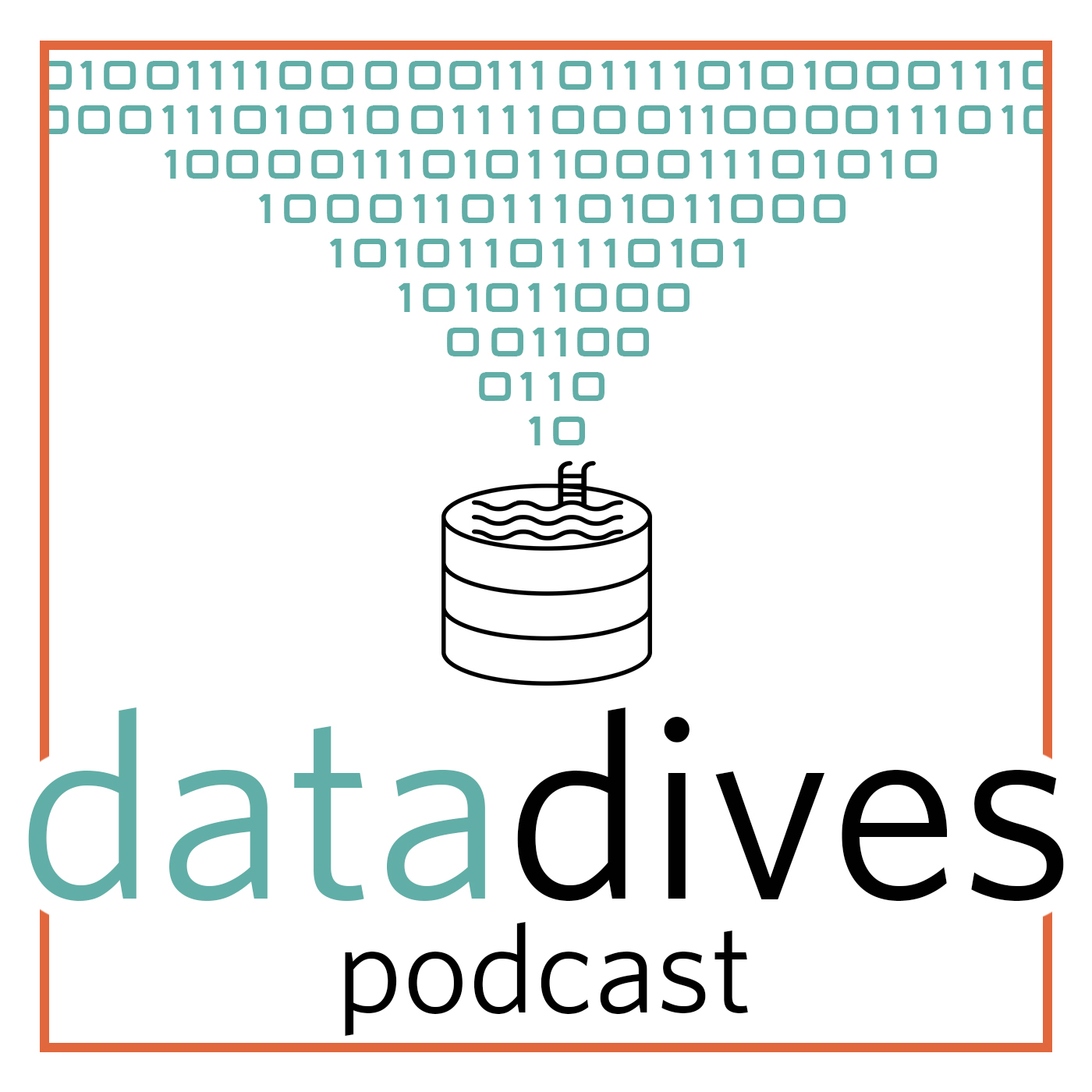 Data Dives Podcast show art