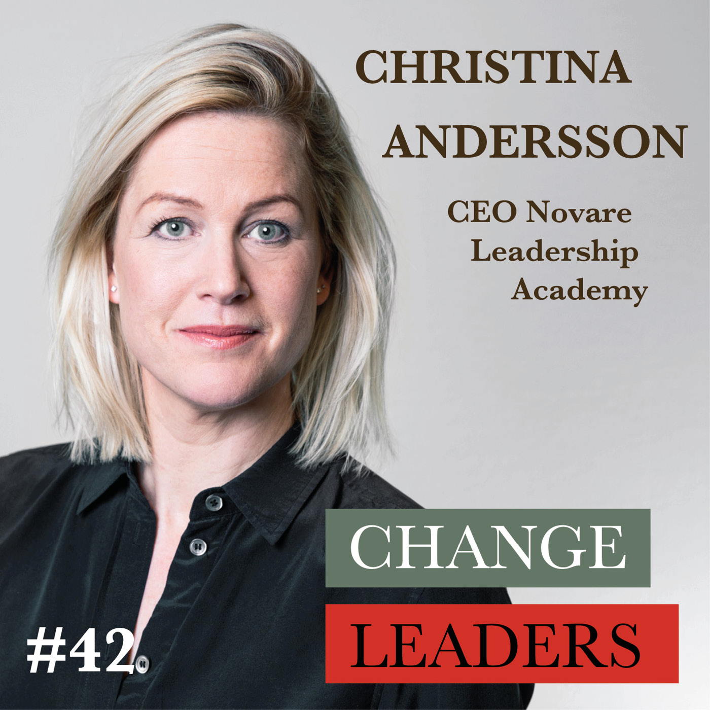 #42 Christina Andersson, CEO Novare Leadership Academy - 17 sustainability lessons for leaders