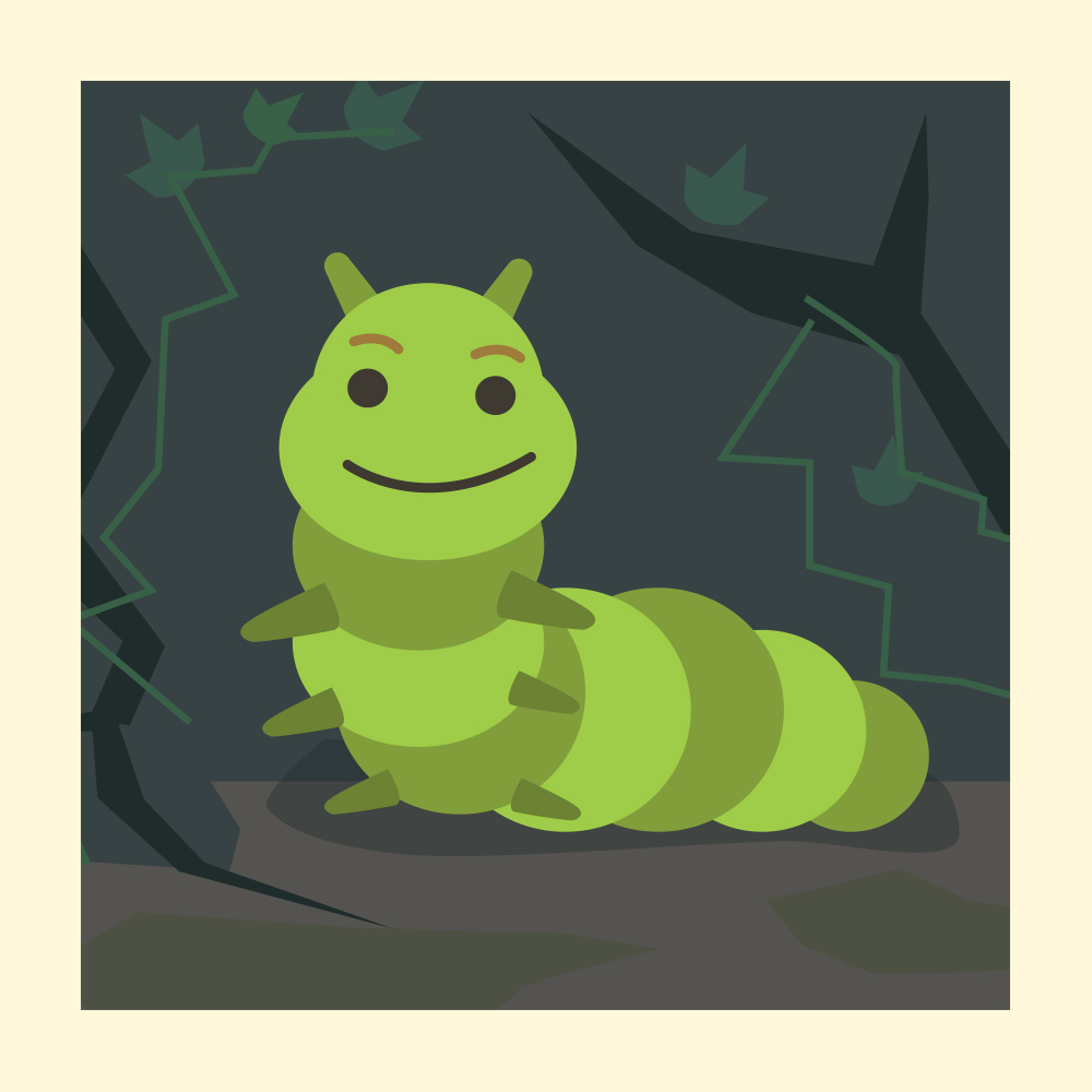 Teach Courage and Confidence with this African Folktale - Storytelling Podcast for Kids - The Caterpillar's Voice E:96