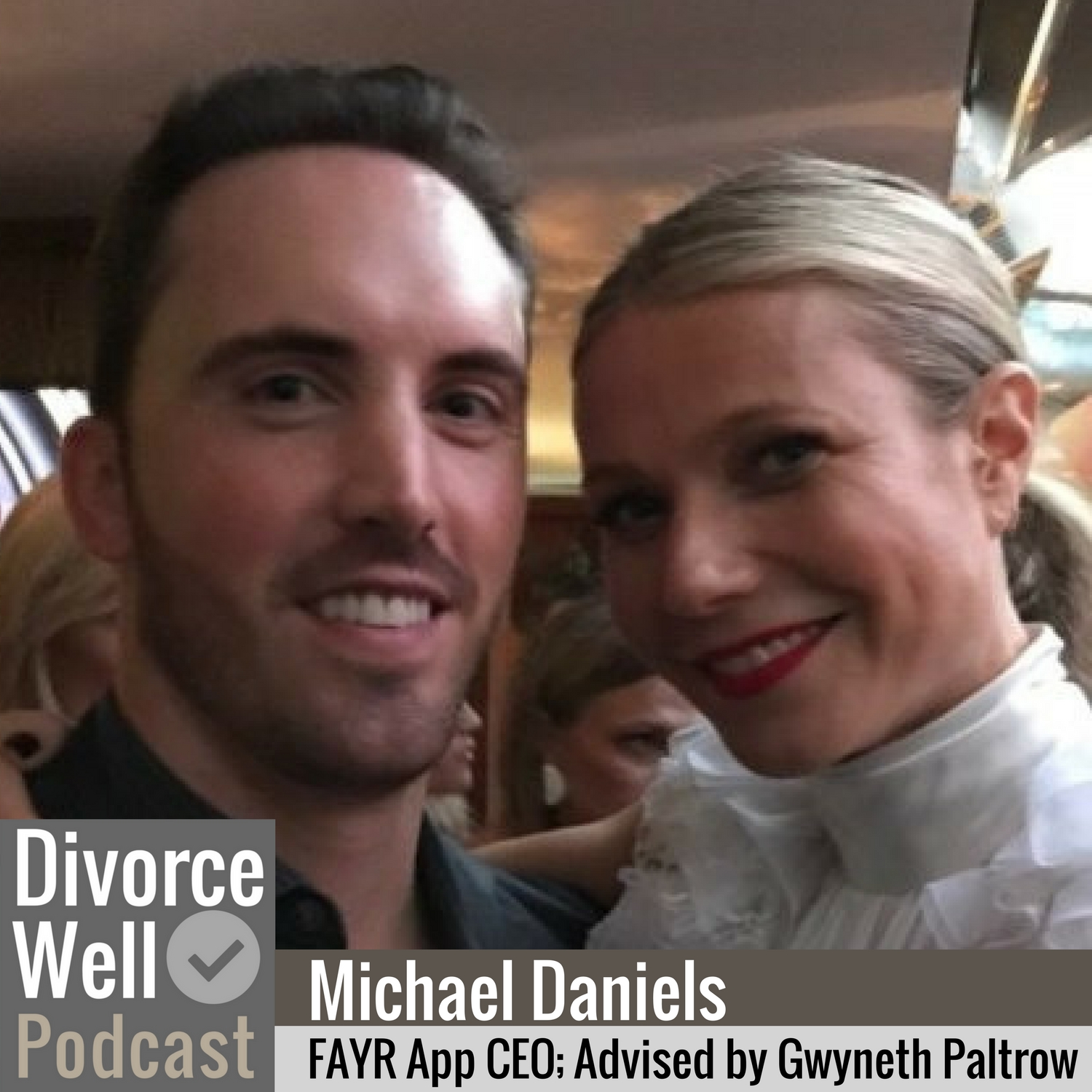 The Divorce Well Podcast - 06 - Michael Daniels on the FAYR app, Gwyneth Paltrow's mentorship, and streamlining co-parenting