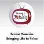 Artwork for Briana Venskus on Bringing Life to Roles