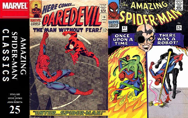 025 ASM Classics - Daredevil 16 and Amazing Spider-Man 37