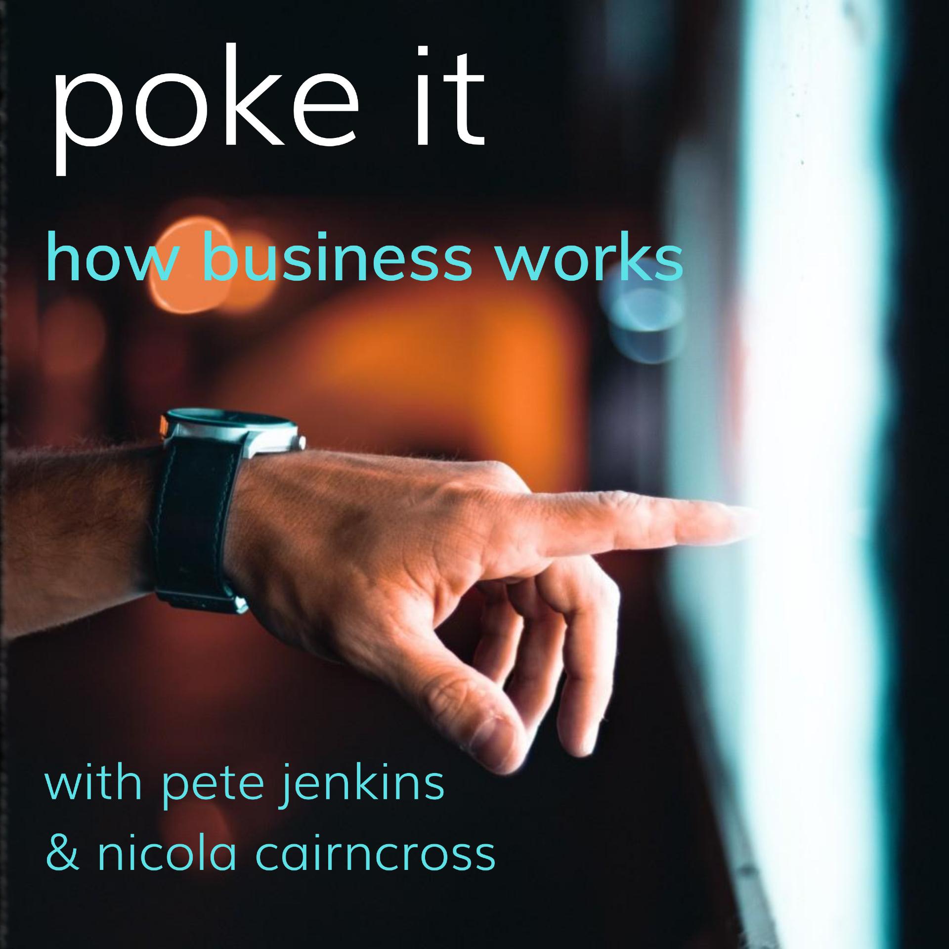Poke It Podcast (How Business Works) show art