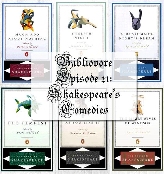 Episode 21 - Shakespeare's Comedies
