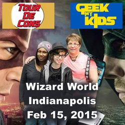 Geek My Kids LIVE at the Indianapolis Wizard World on Feb 15, 2015