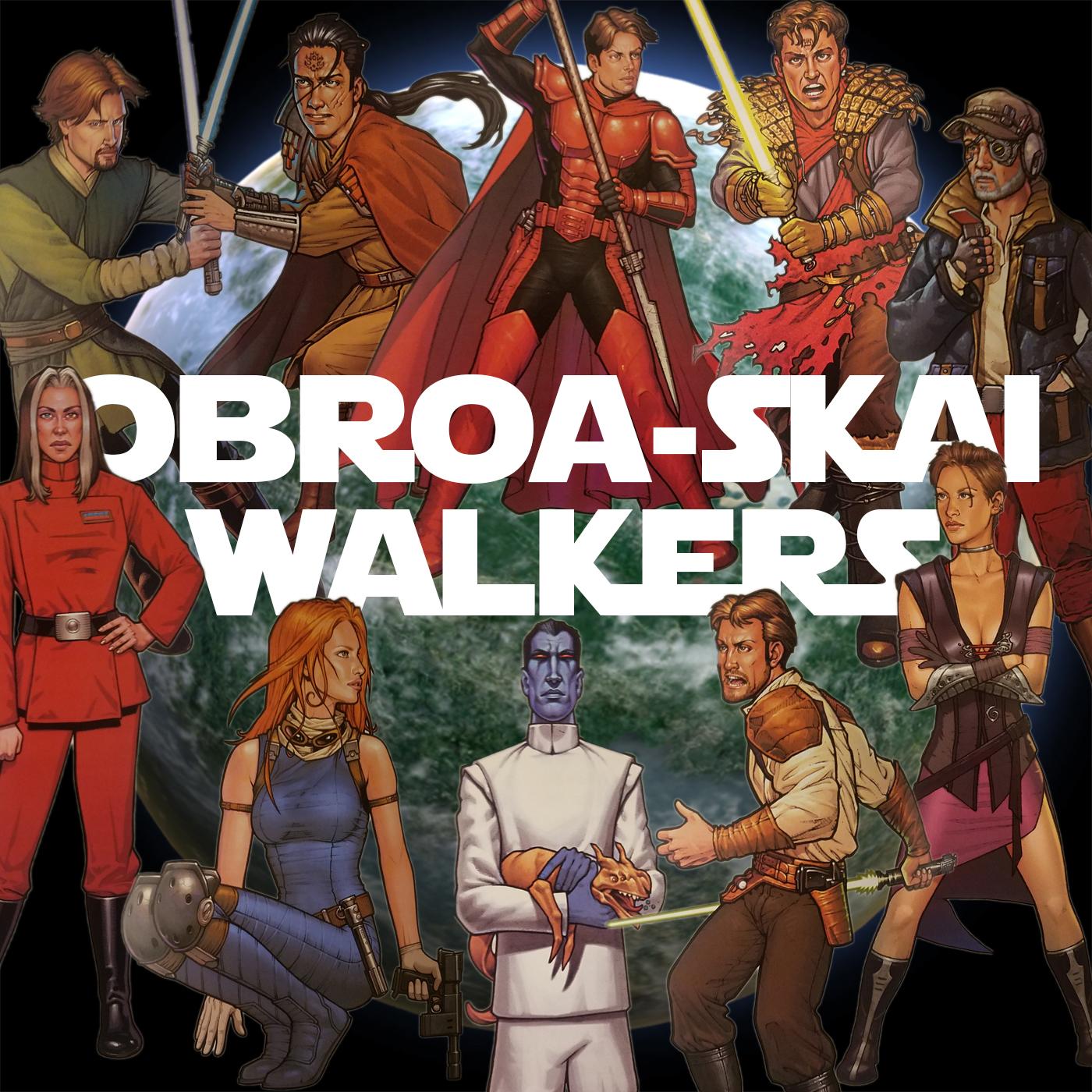 Obroa-skai Walkers show art