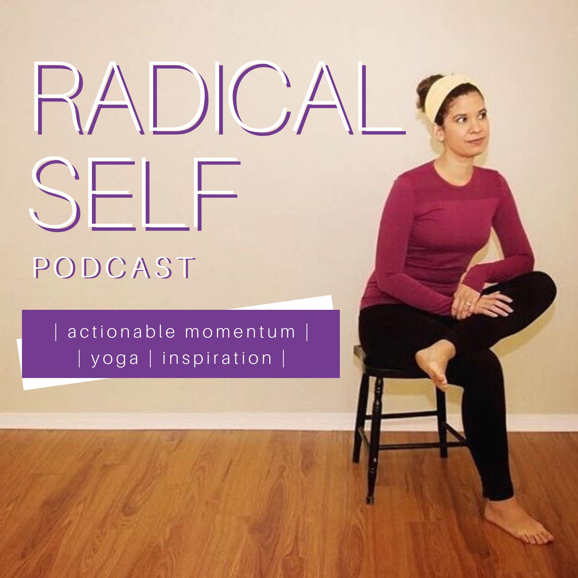 Radical Self Podcast show art