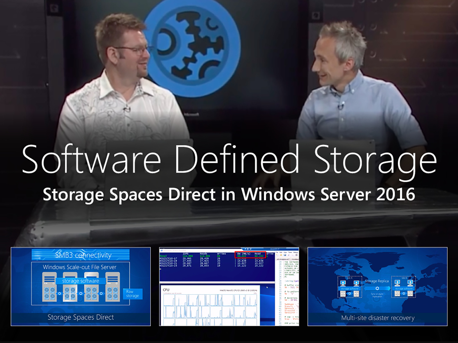 Artwork for Software Defined Storage with Storage Spaces Direct in Windows Server 2016