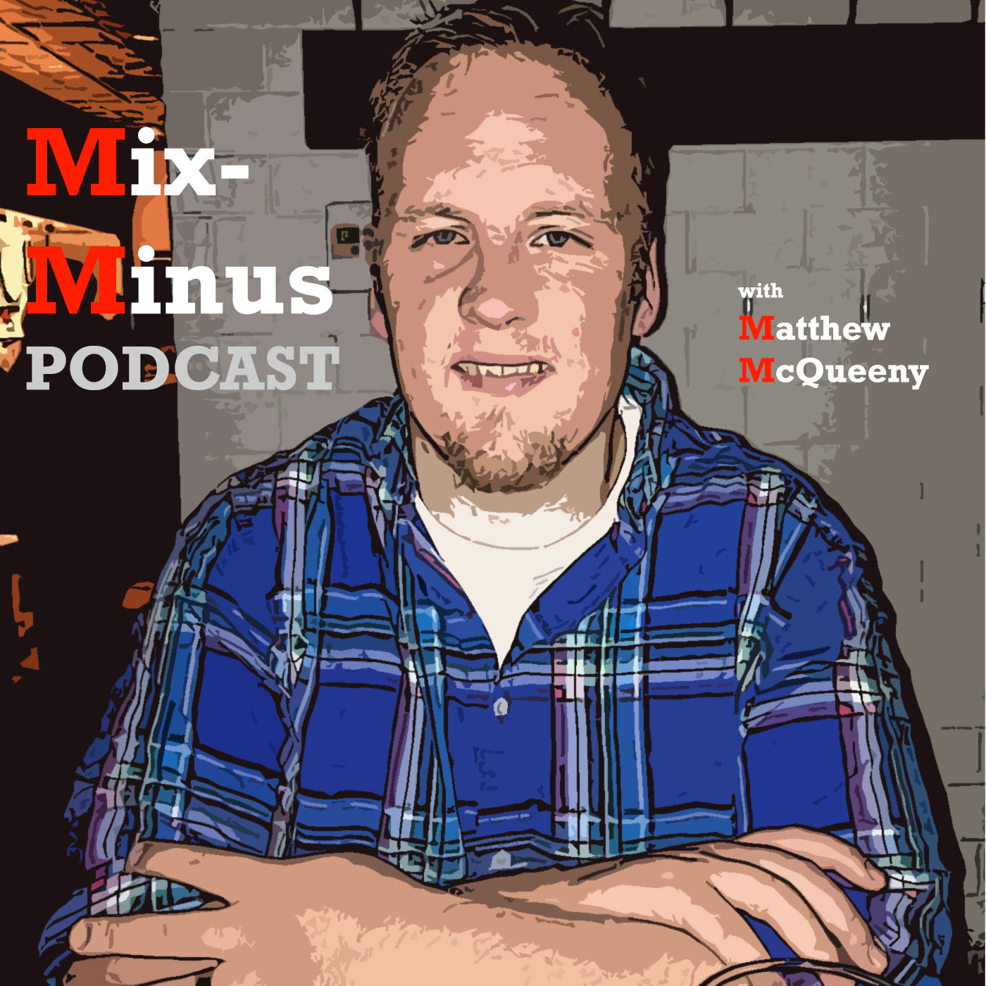 Mix-Minus with Matthew McQueeny logo