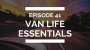 Artwork for episode 41: van life essentials