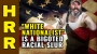 """Artwork for """"White NATIONALIST"""" is a bigoted racial SLUR by Leftists"""