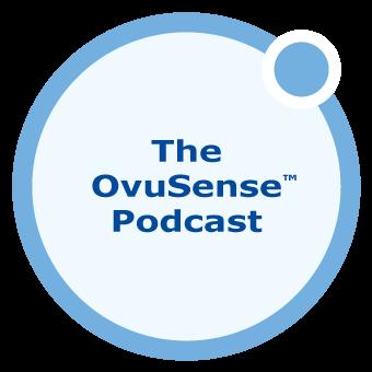The Ovusense Podcast show art