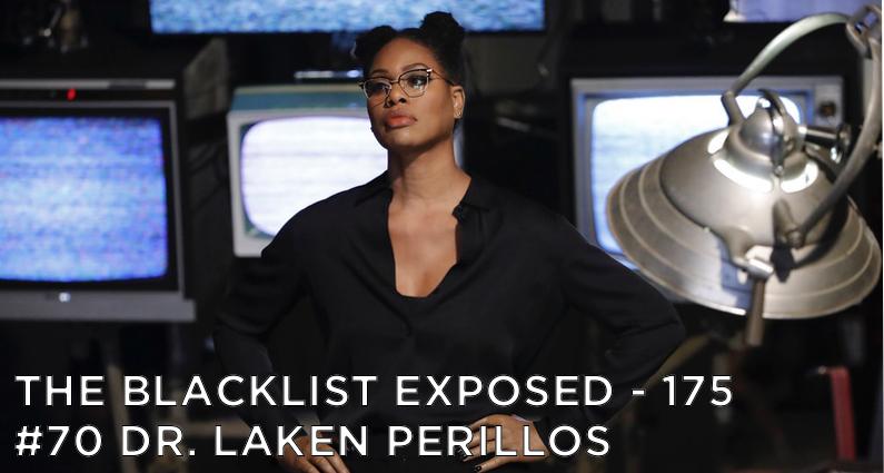 Dr. Laken Perillos looks at her next victim