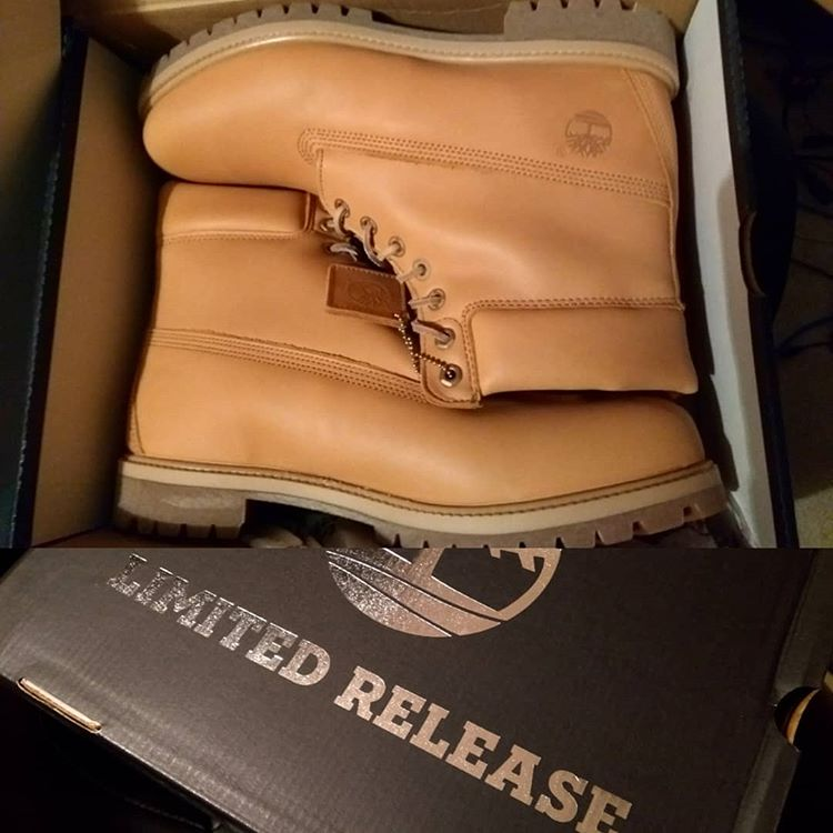 Unboxed Timberland boots