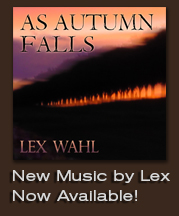 New Album, As Autumn Falls by Lex Wahl