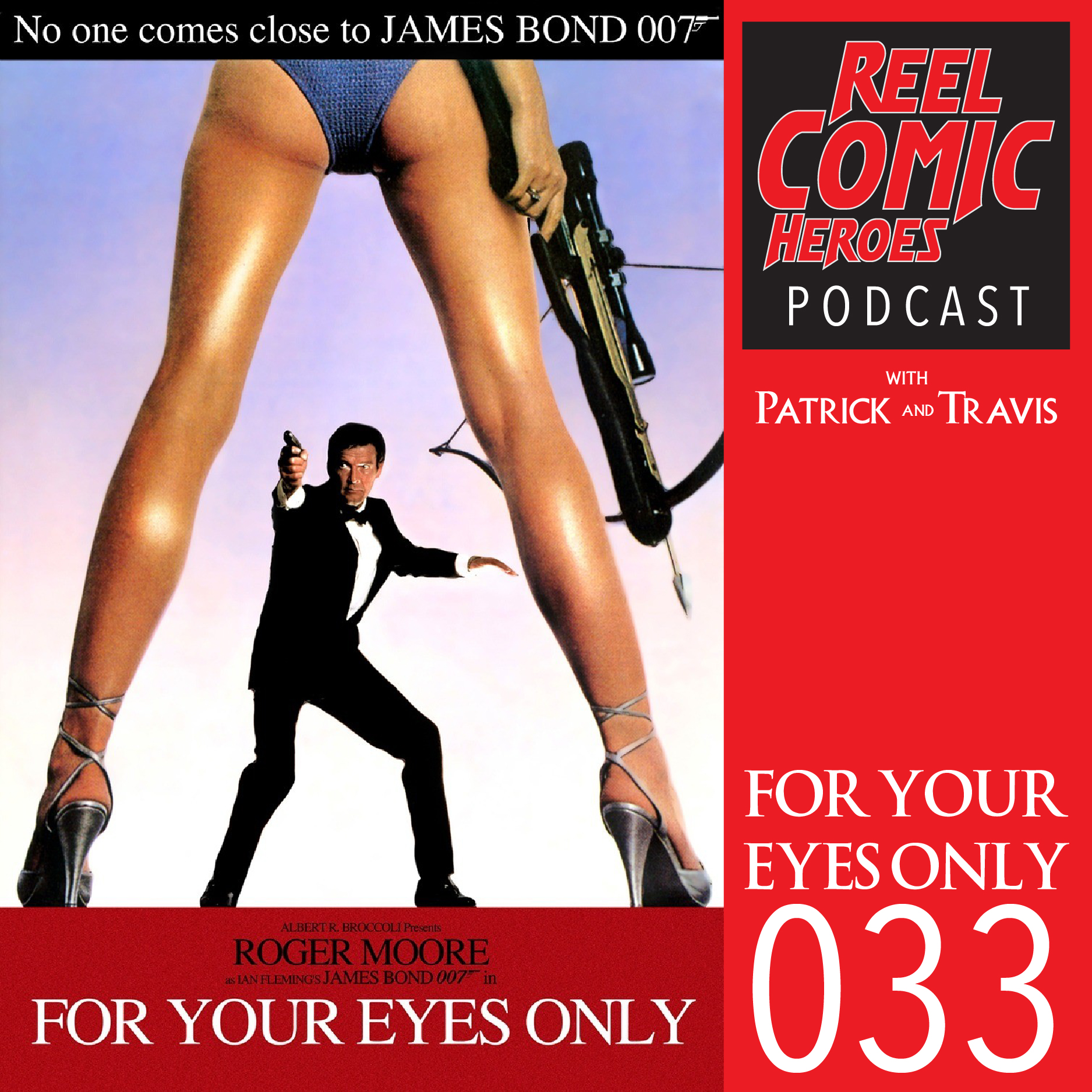 Artwork for Reel Comic Heroes 033 - For Your Eyes Only