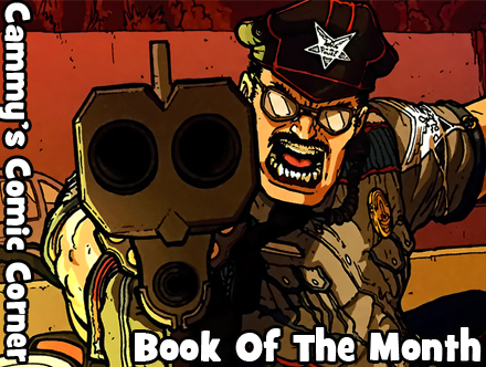 Cammy's Comic Corner - Book Of The Month - Officer Downe