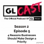 Artwork for Ep 0205: 4 Reasons Businesses Should Make Design a Priority