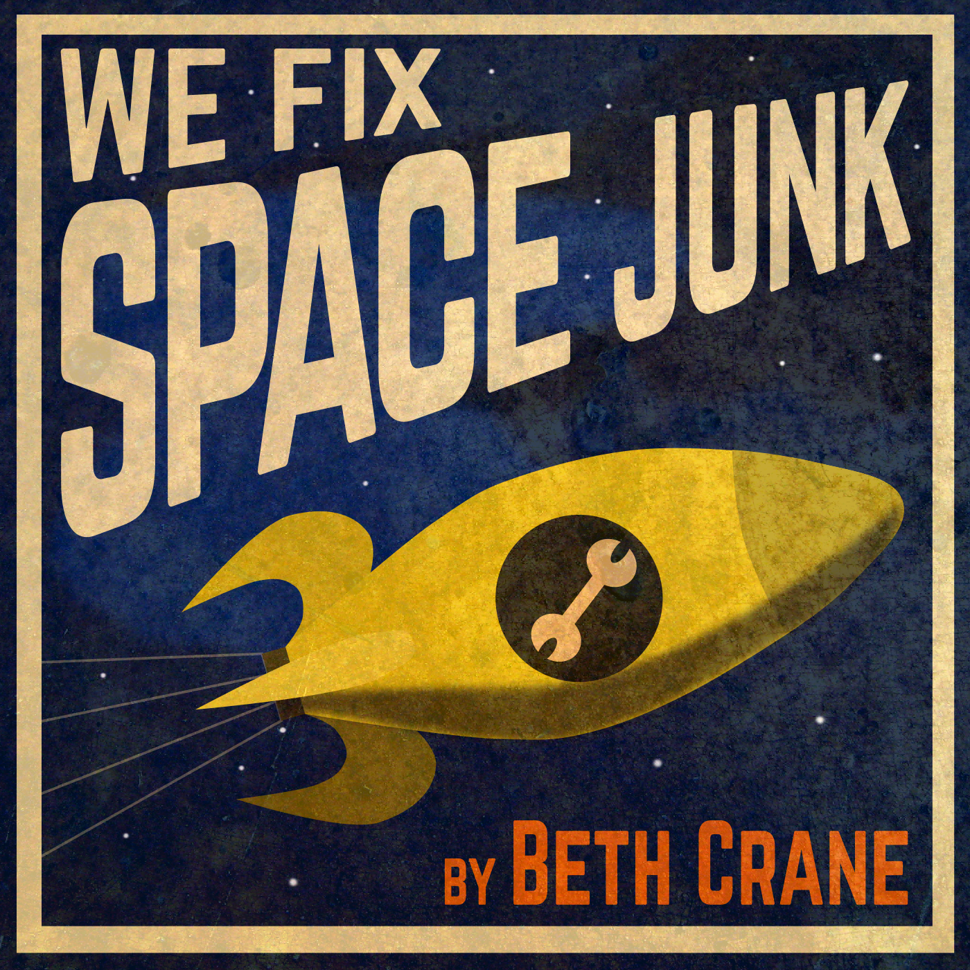 We Fix Space Junk show art