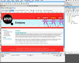 Take advantage of Page Templates in Dreamweaver CS3