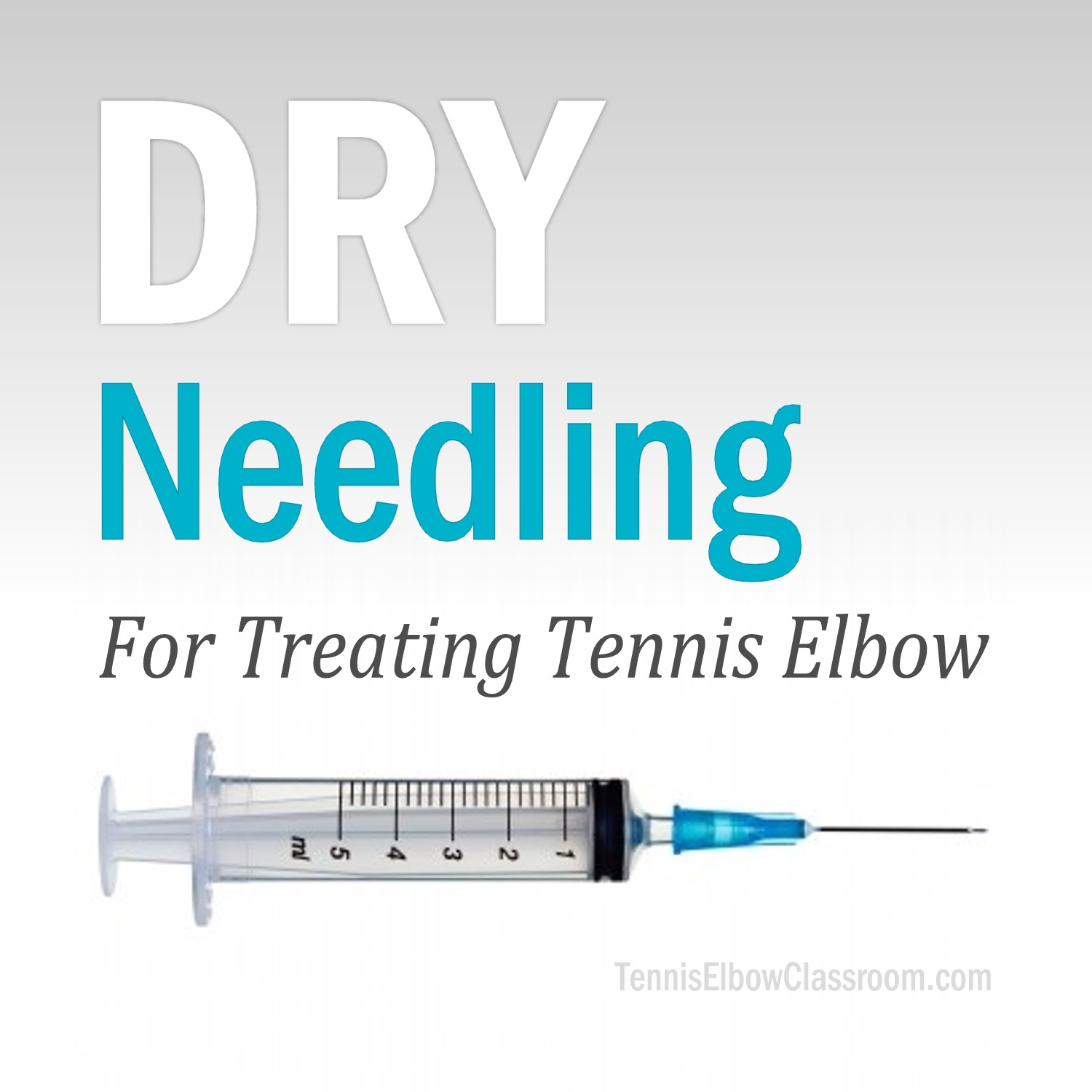 Podcast Cover: Dry Needling For Treating Tennis Elbow