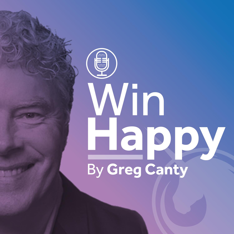 Win Happy Podcast show art