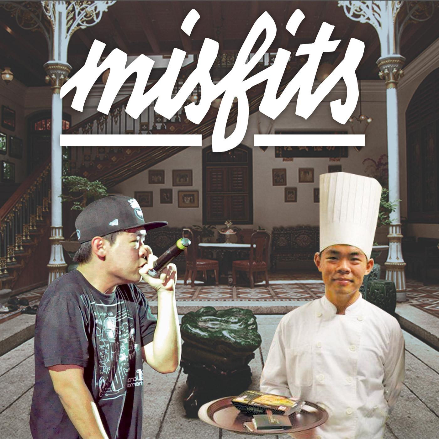 Misfits: Wisdoms with unconventional Singaporean logo