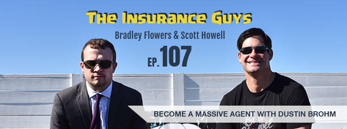 Dustin Brohm on Insurance Guys Podcast