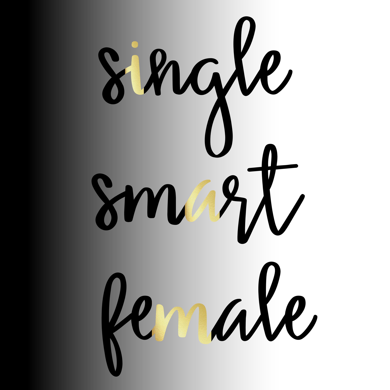 Single Smart Female show art