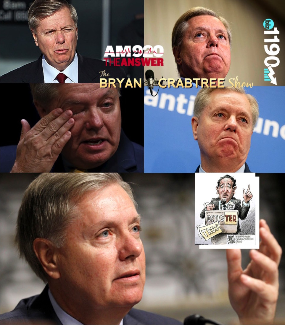Artwork for Lindsey Graham's 5 Stages of Primary Grief Over Ted Cruz.