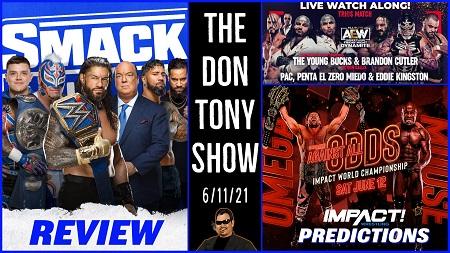 The Don Tony Show 06/11/21 show art