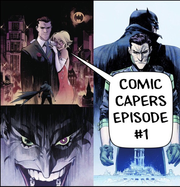 Artwork for Batman White Knight Issues #1-#8: Comic Capers Episode #1