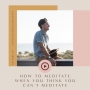 Artwork for RYG 69 - How to meditate when you think you can't meditate - with Jason McGrice