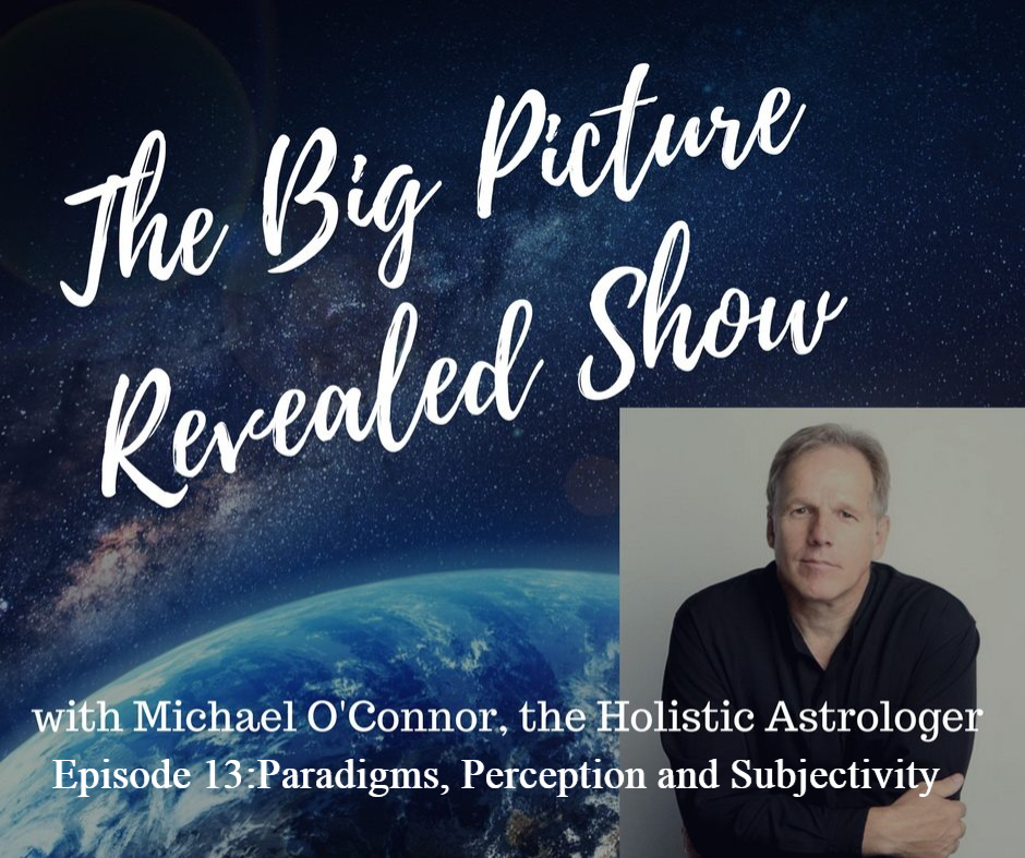 Artwork for  Michael O'Connor:The Big Picture Revealed Show Episode 13:Paradigms, Perception and Subjectivity
