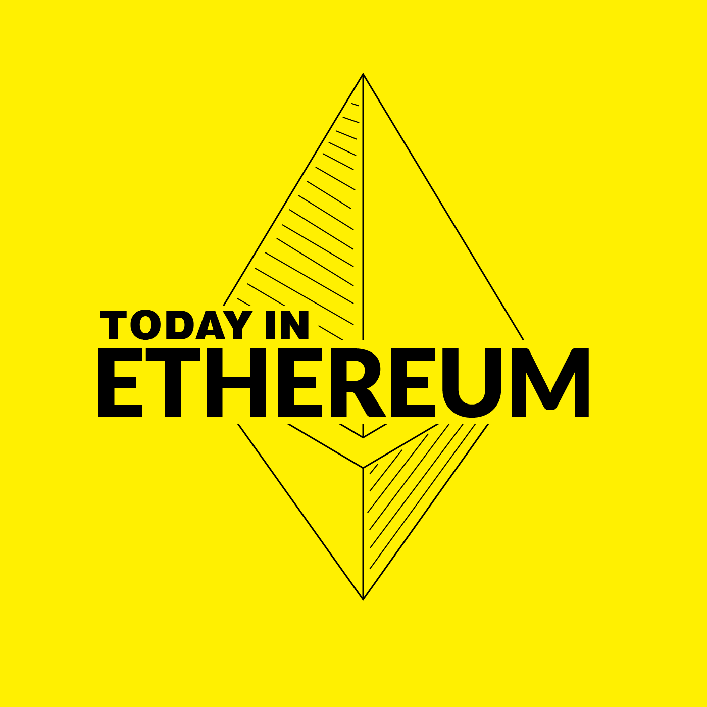 Welcome to Today in Ethereum