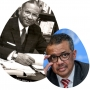 Artwork for From Amadou Mbow ( UNESCO) to Tedros Gebreyesus ( WHO): Same battle?