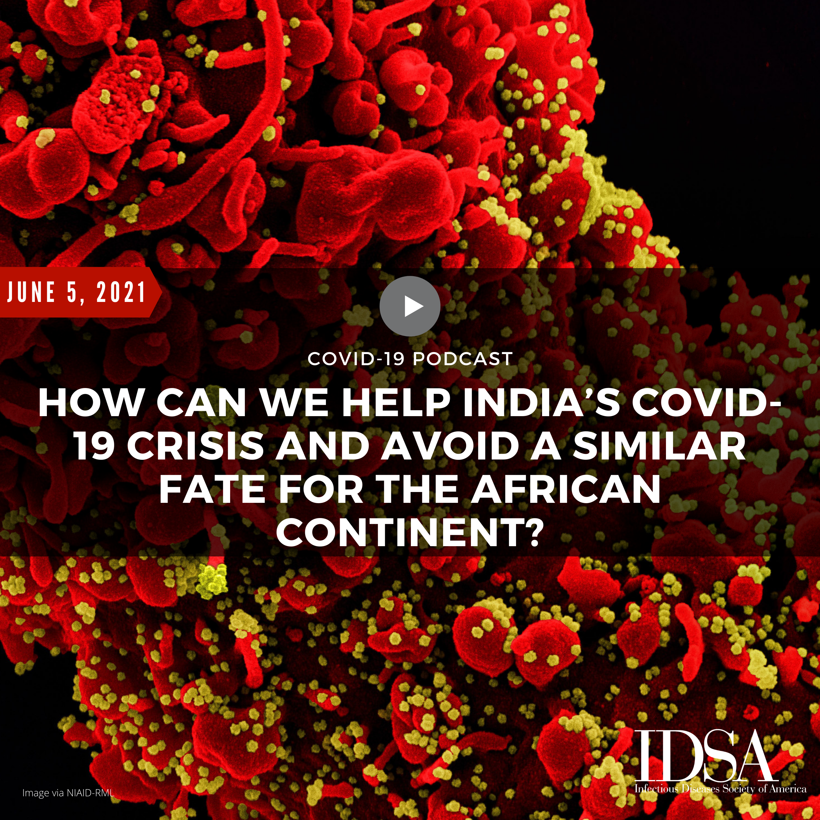 How Can We Help India's COVID-19 Crisis and Avoid a Similar Fate for the African Continent? (June 5, 2021)