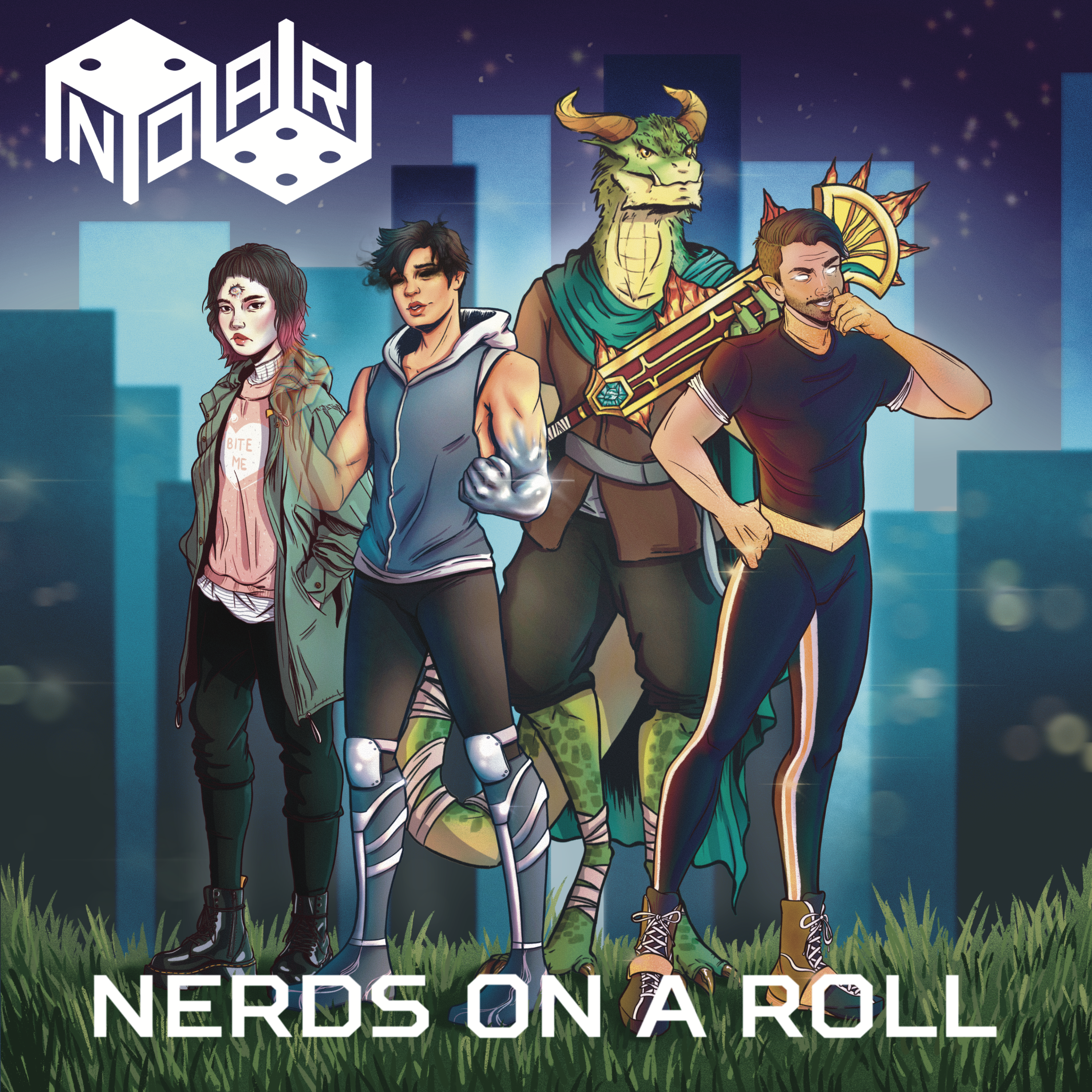 Artwork for Roll With Us: Podcasting, D&D, and Josh Perault