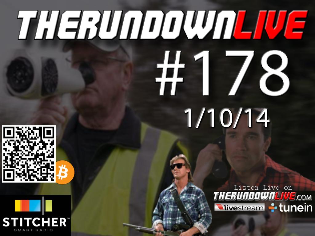 The Rundown Live #178 Open Lines, Liberty, Garrow, Bitcoin