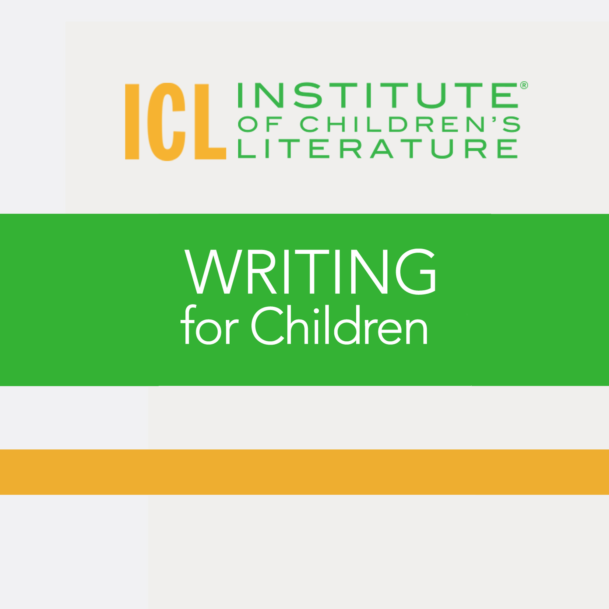 Writing for Children show art