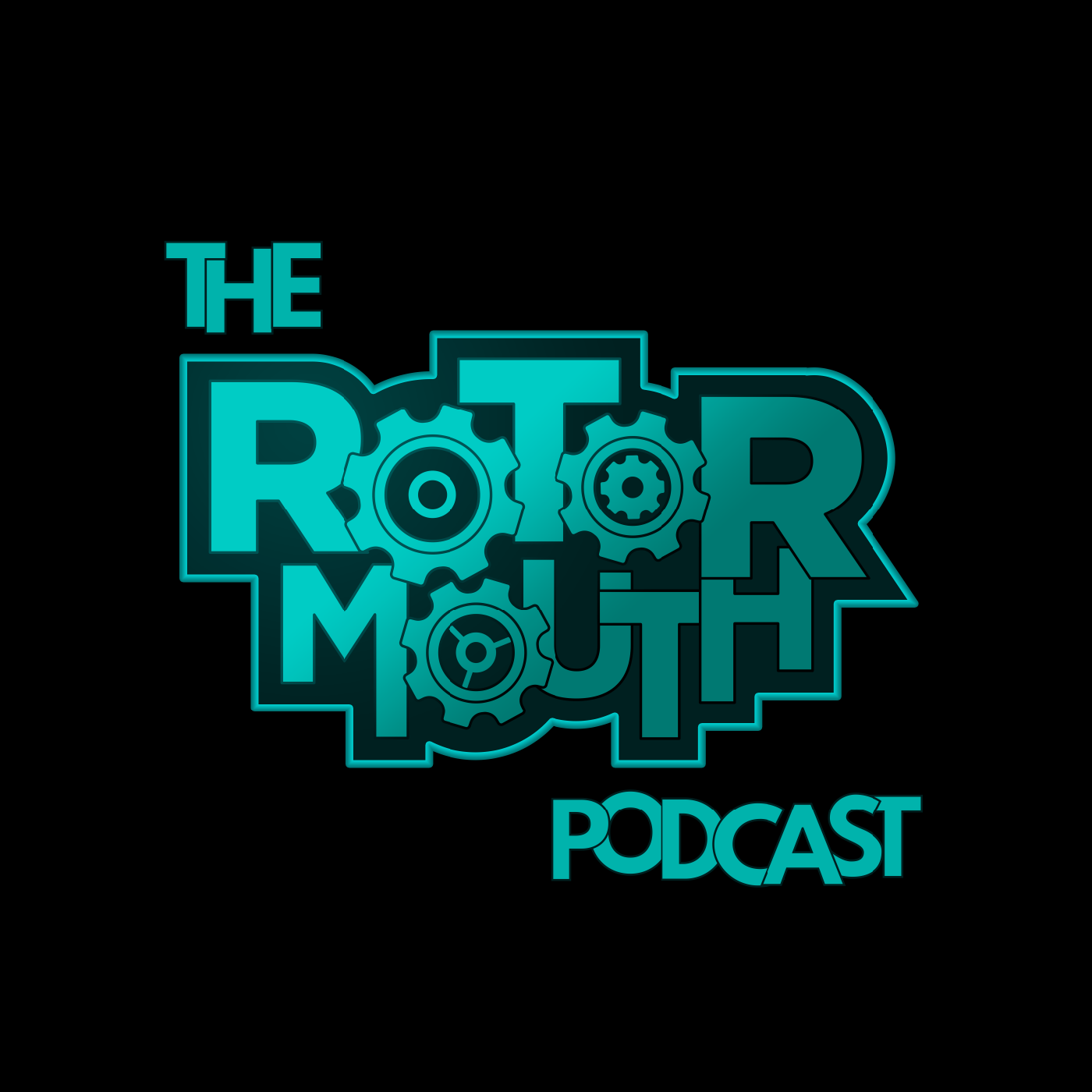 The Rotormouth Podcast show art
