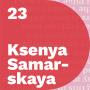 Artwork for Ksenya Samarskaya, Type Designer