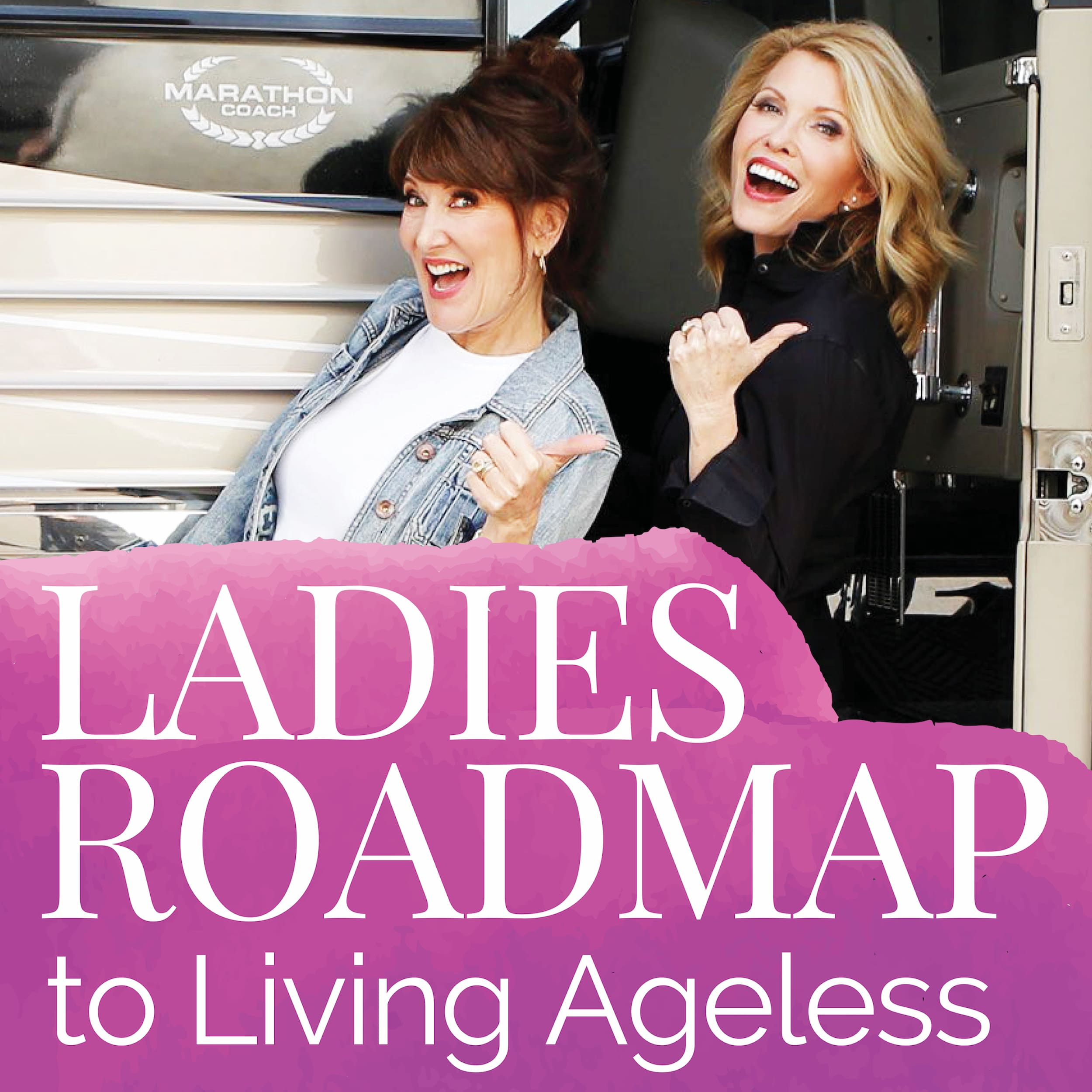 Ladies Roadmap to Living Ageless show art