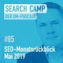 Artwork for SEO-Monatsrückblick Mai 2019: Google Jobs, Favicon, neues Markup + mehr [Search Camp Episode 85]