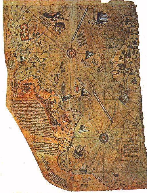 Peri Reis map